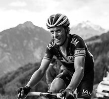 Sylvain Chavanel (IAM Cycling) by Wei Yuet Wong