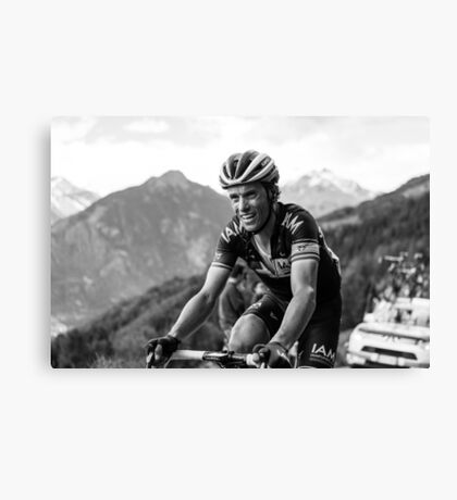 Sylvain Chavanel (IAM Cycling) Canvas Print