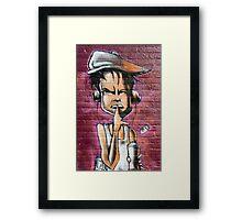 Urban Hush. Framed Print
