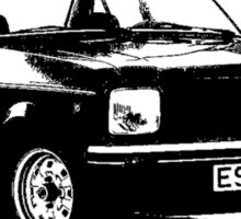 1975 - 80 Ford Escort Mk 11  Sticker