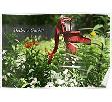 Mother's Garden Poster
