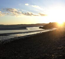 Sunset over Silverdale (shot taken from far Arnside,cumbria) by tenere