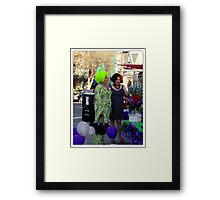 A Sequential Event Framed Print