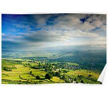 Derwent Valley from Froggott Edge Poster
