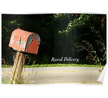 Rural Delivery Poster