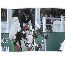 Horse rider 8216 Poster