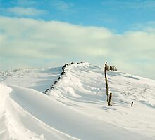 Hollins Cross-The Great Ridge in Winter by Craig555