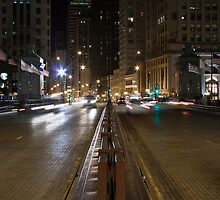 Michigan Ave Bridge by eegibson