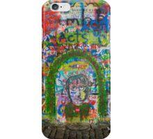 John Lennon's wall iPhone Case/Skin