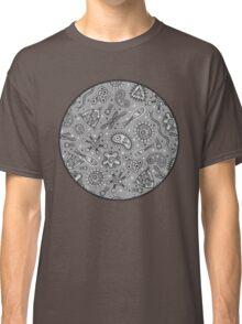 Microbes - Grey / Gray Classic T-Shirt
