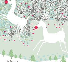 Reindeer Xmas Wishes by DanYELL