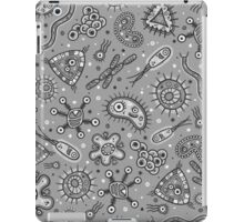 Microbes - Grey / Gray iPad Case/Skin