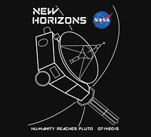 New Horizons -- Humanity Reaches Pluto 07142015 Unisex T-Shirt