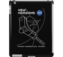 New Horizons -- Humanity Reaches Pluto 07142015 iPad Case/Skin