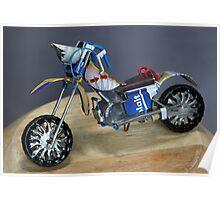 Tin Bike Poster