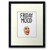 Friday Mood Framed Print
