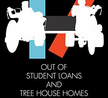 Out of student loans and tree house homes by Jimmy Fallon