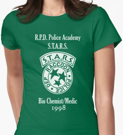 Rebecca Chambers Academy Shirt Womens Fitted T-Shirt