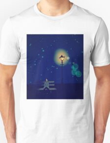 Lonely Man under the Lonely Light T-Shirt