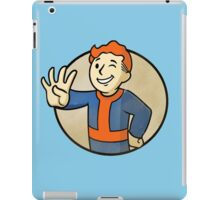 Fallout 4 - Redhead vault boy  iPad Case/Skin