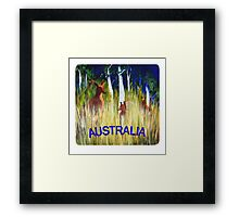 Roos in the Grass  Framed Print