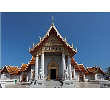 Buddhist temple Bangkok Photographic Print