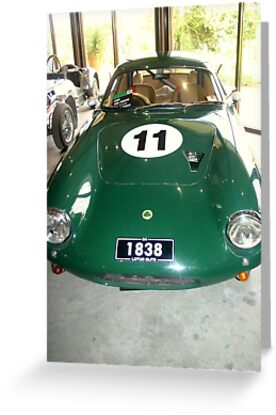 1961 Lotus Elite Super 95 by Chris Chalk
