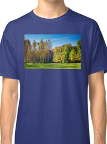 Autumn warm days in the park Classic T-Shirt