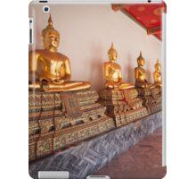 Golden Buddha Statues iPad Case/Skin