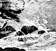 STORMY OCEAN Sticker