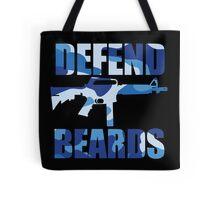 DEFEND BEARDS Tote Bag