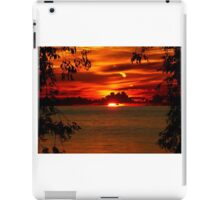 Framed by the Trees iPad Case/Skin
