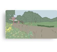 River Mole Canvas Print