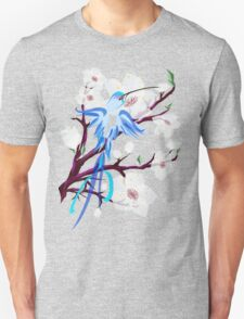 Bird and Cherry Blossoms T-Shirt