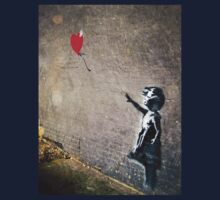 Banksy's Girl with a Red Balloon II Kids Clothes