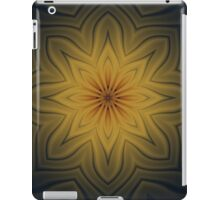 A Snowflake In Autumn Fractal  iPad Case/Skin