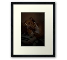 Out for the Count! Framed Print
