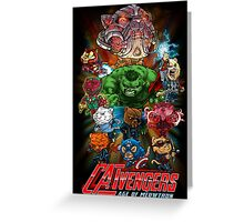 CATVENGERS-Age of Mewtron Greeting Card