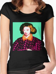 Christopher Marlowe, Poet and Spy Women's Fitted Scoop T-Shirt
