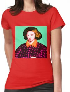 Christopher Marlowe, Poet and Spy Womens Fitted T-Shirt
