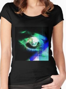 EYE EYE - an eye for an eye Women's Fitted Scoop T-Shirt