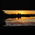 The Bridge, the River and the Sunset by Catherine Davis