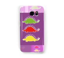 BEHOLD ...  THE DEADLY STEGOSAURUS RAMPAGE Samsung Galaxy Case/Skin