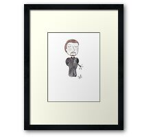 Doctor Who - It's As Easy As Pie Framed Print