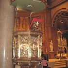 The Pulpit of St. Ignatius Loyola Church by Patricia127