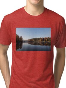 Lakeside Cottage Living - Peaceful Morning Mirror Tri-blend T-Shirt