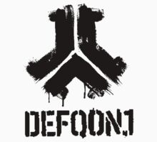 Defqon 1 2013 - Weekend Warriors - Logo 2 - Black Kids Clothes