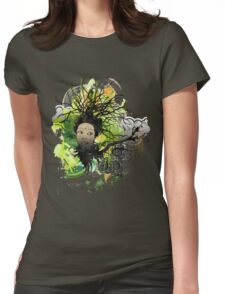 """Earth Goddess"" Womens Fitted T-Shirt"