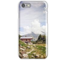 The Hut in the Mountains iPhone Case/Skin