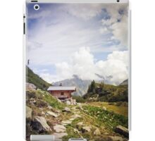 The Hut in the Mountains iPad Case/Skin